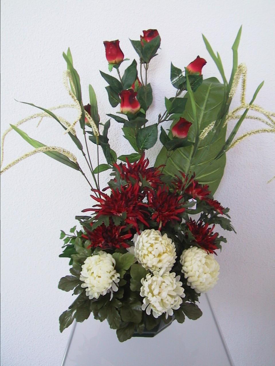 Fleurs tombales