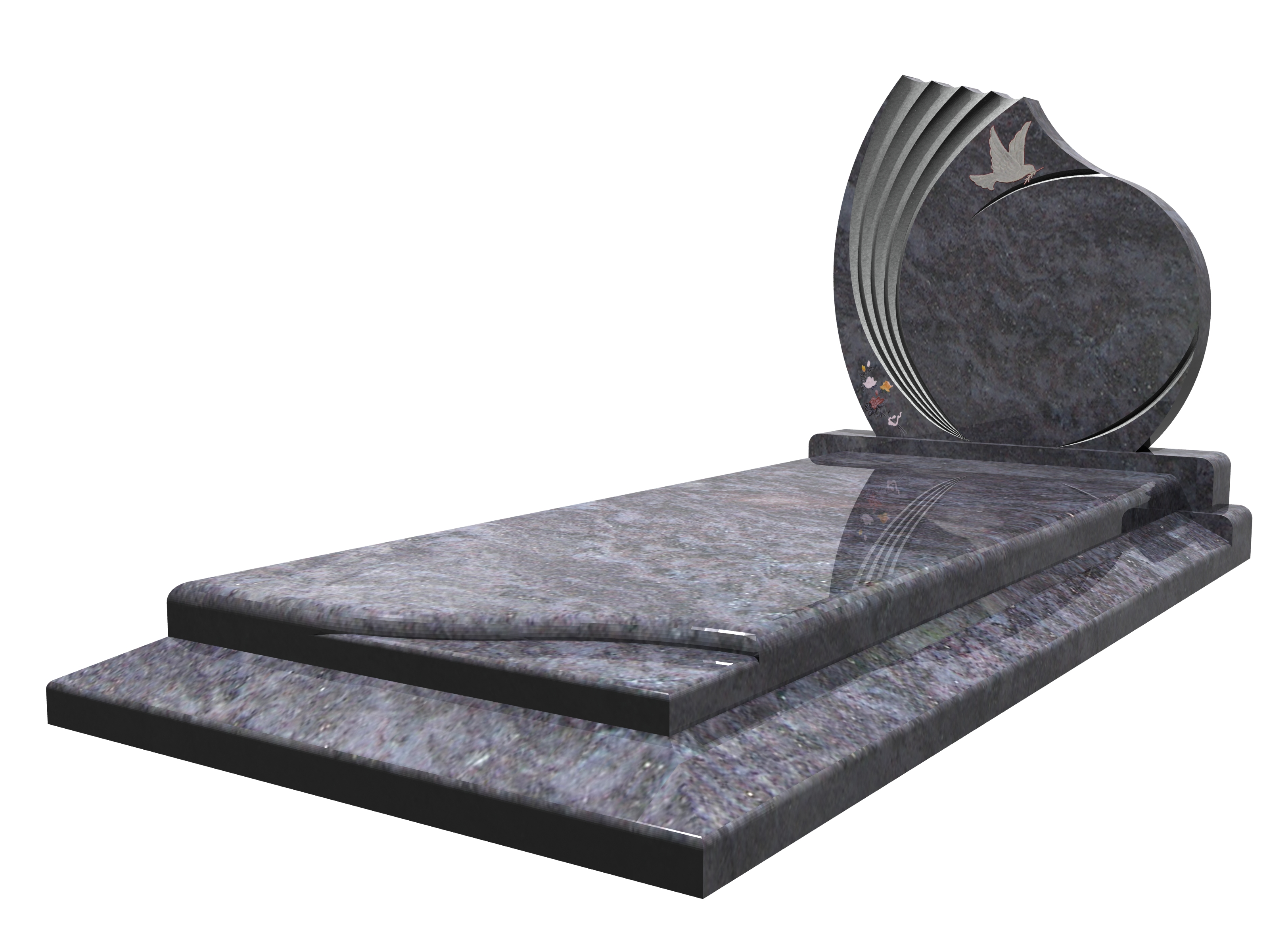 pierre tomble granit himalaya
