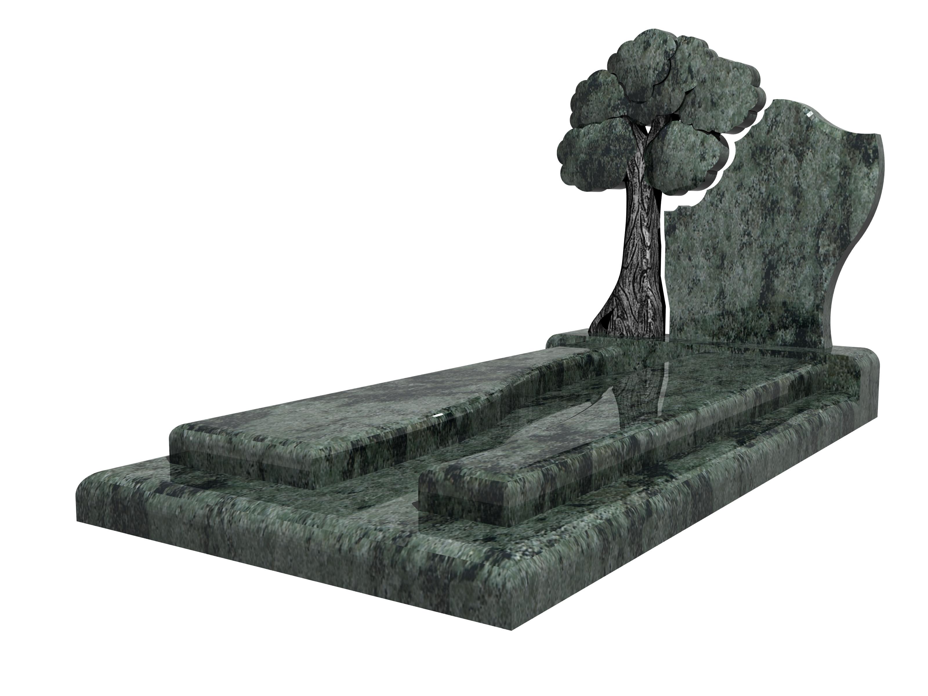 stèle funeraire forme arbre