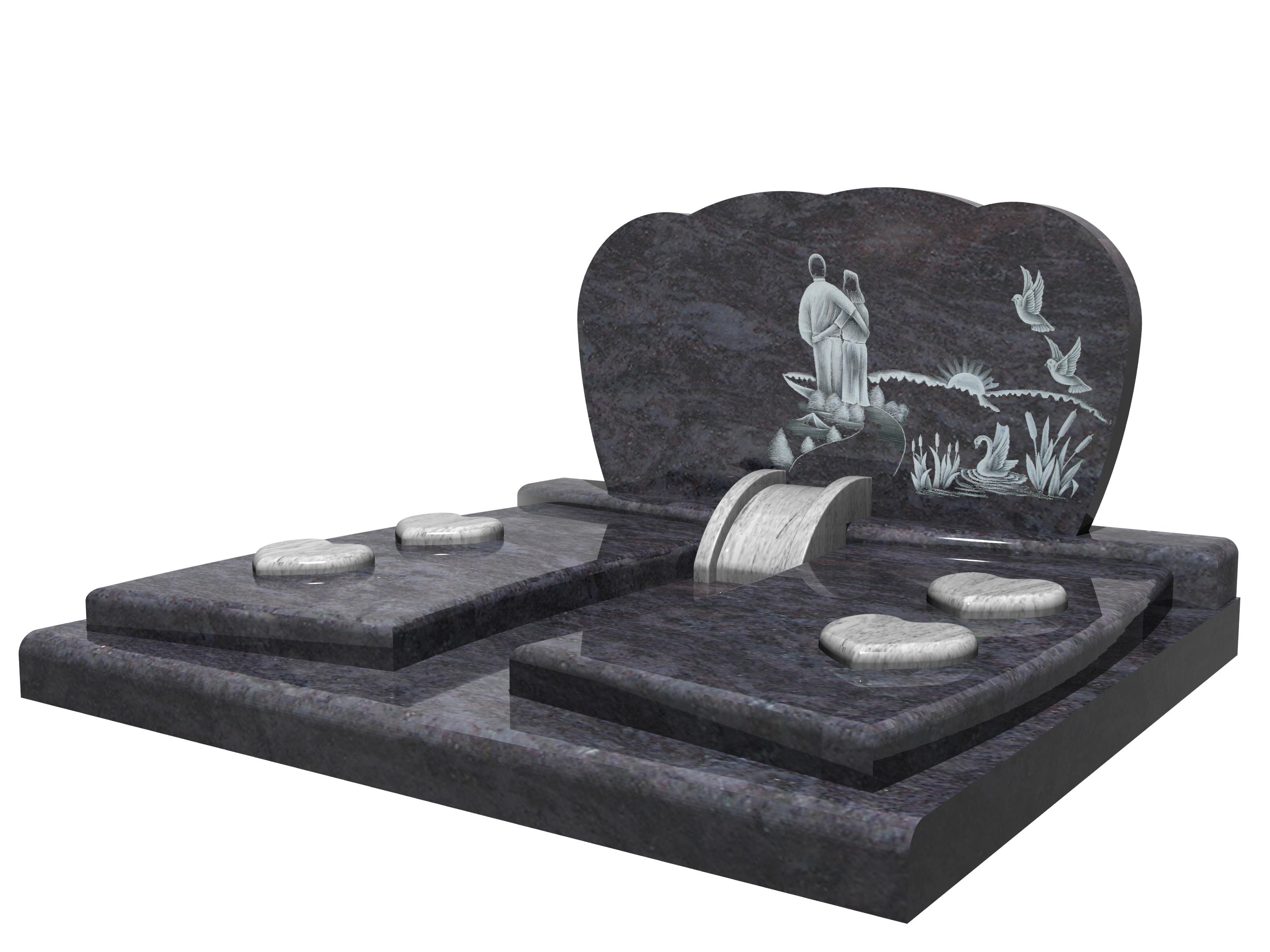 monument cimetière riviere