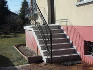 Am nagements ext rieur entreprise de r f rence dans le for Escalier exterieur granit