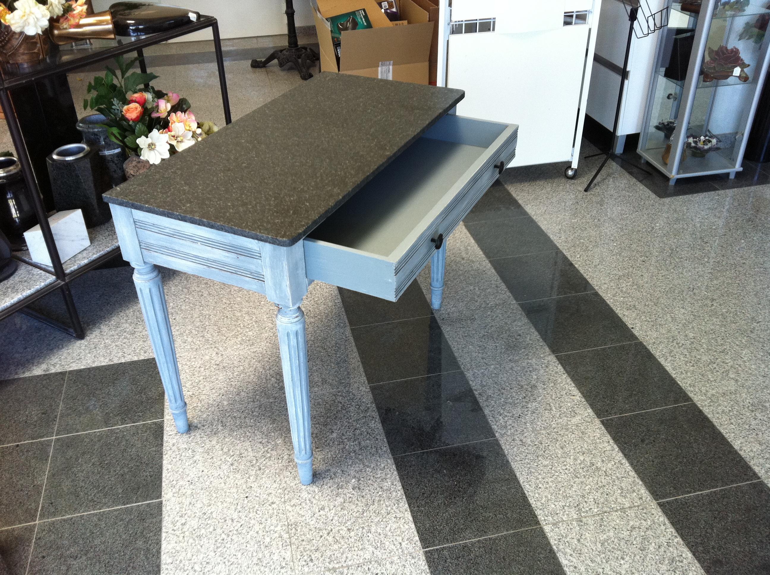 Rénovation meuble avec granit