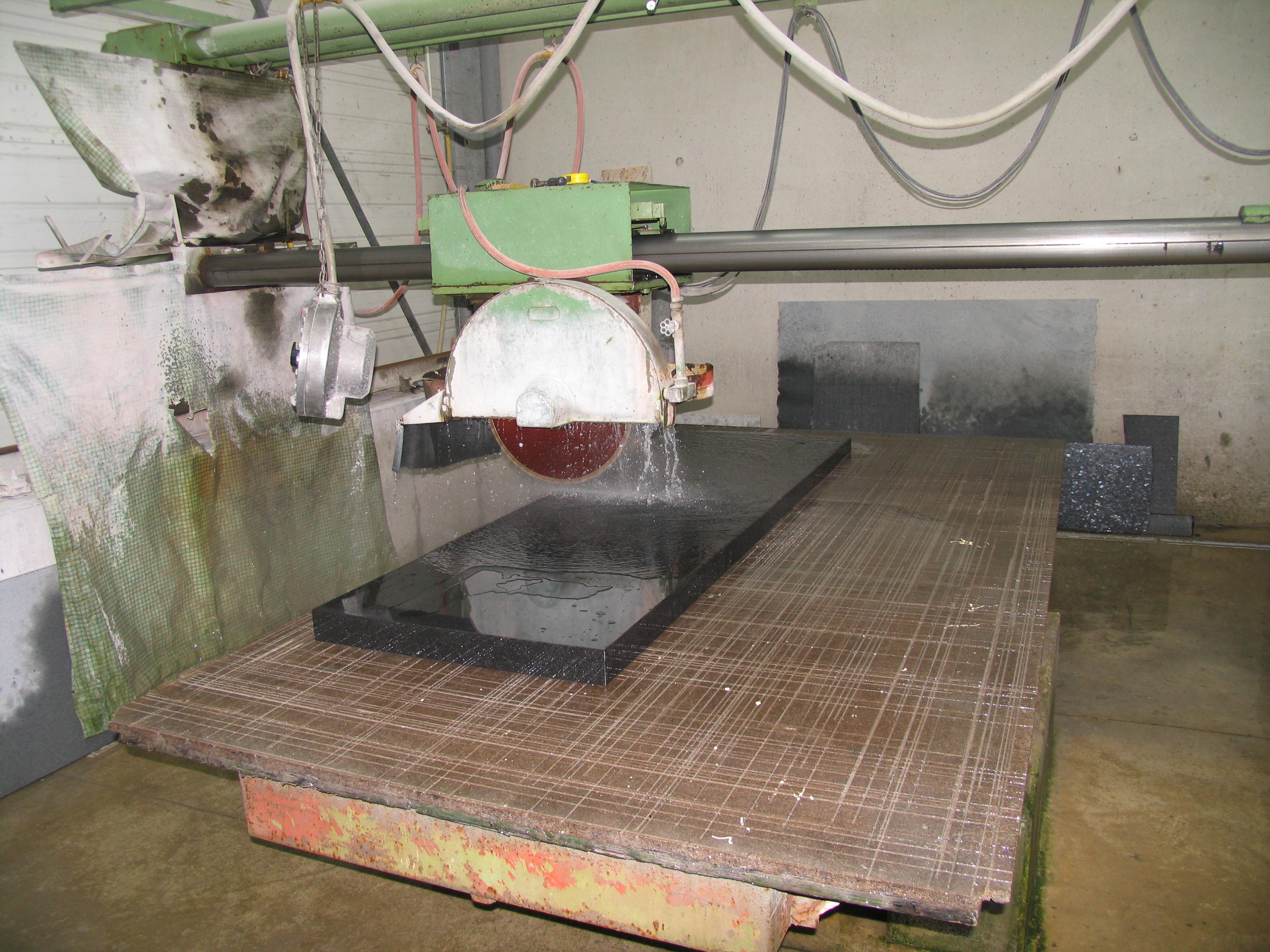 Machinerie granit