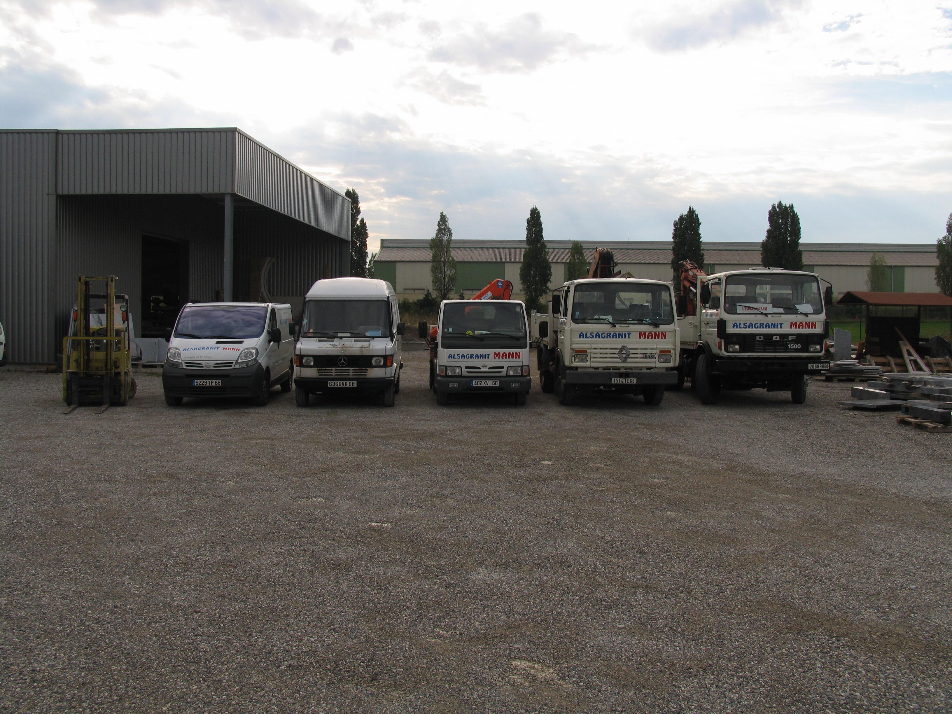Flotte camion granit