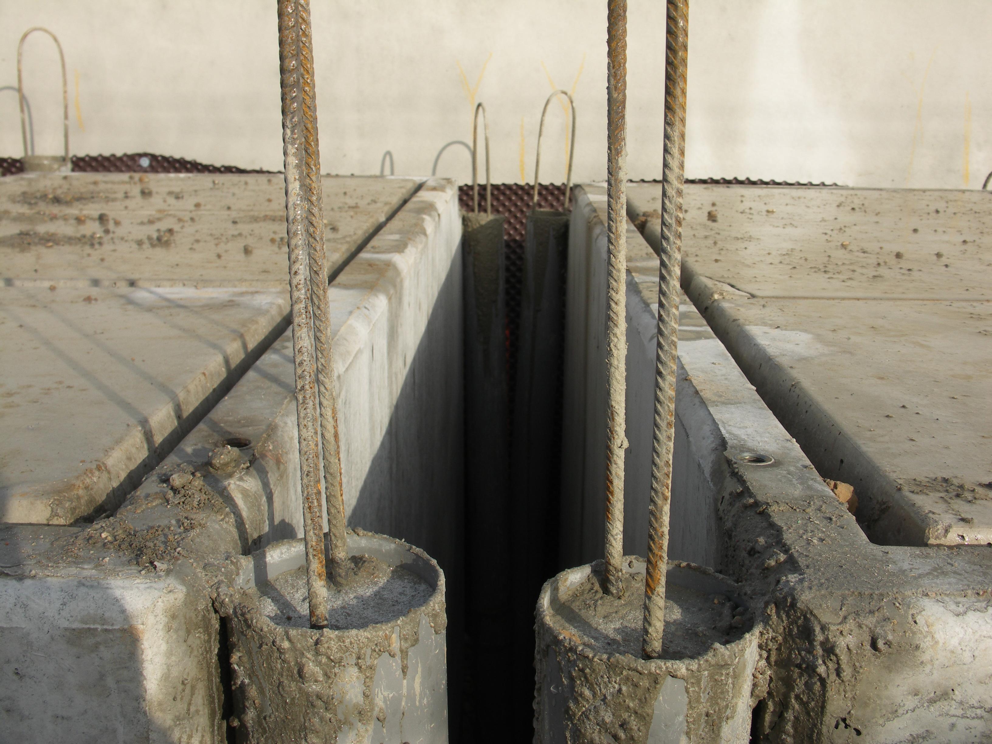 fondations béton armé caveaux funéraire