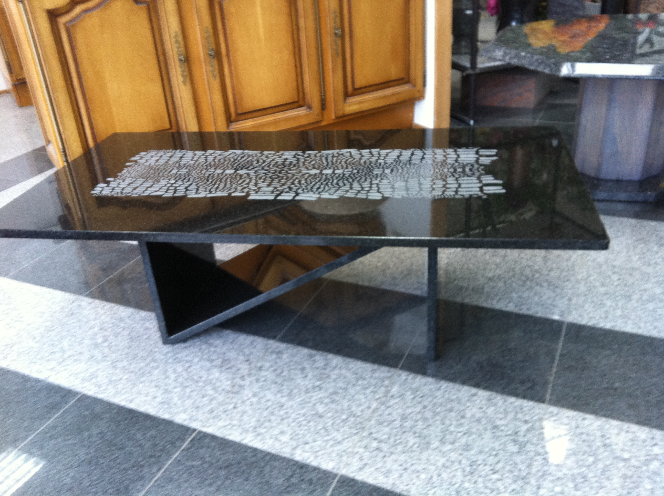 table basse en granit Alsace (68)