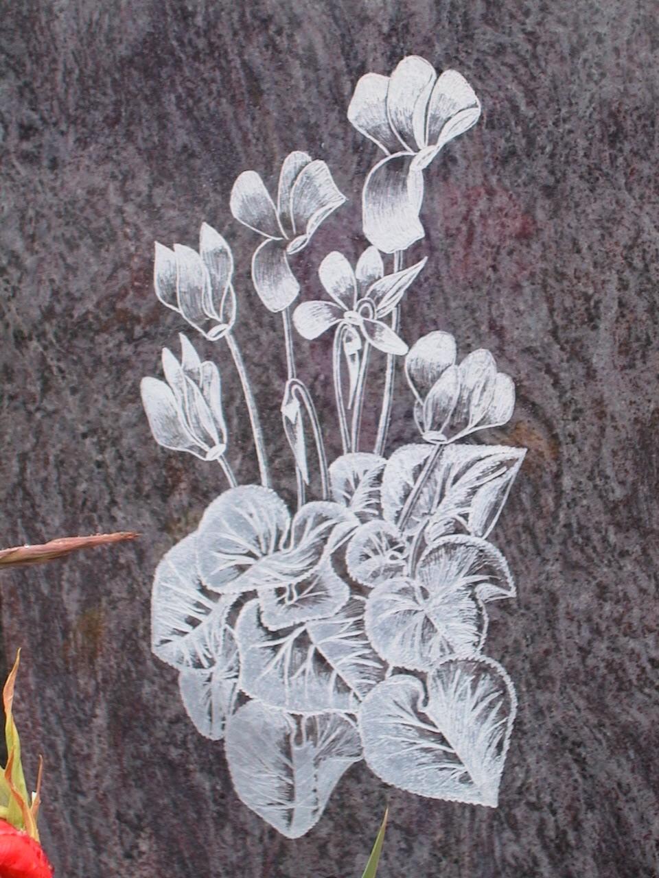Gravure/fraisage granit
