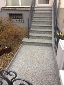 escalier granit lutterbach